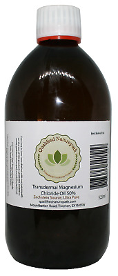 525ml Magnesium Chloride Oil High Strength With Added Tea Tree Oil • 21.45£
