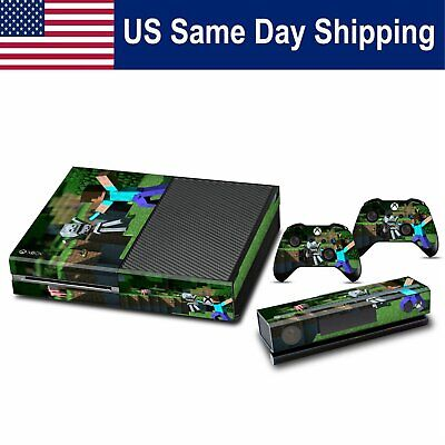 $8.87 • Buy Decals Sticker Vinyl Skin For Xbox One Console & 2 Controller Cover Set