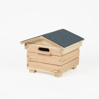Dragonfli Wooden Bumble Bee Hive - Bee House Hotel With Live Colony Of Bees  • 174.99£