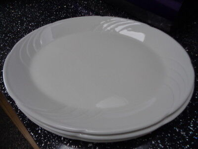 £32 • Buy  Dudson Vitrified White Oval Plates / Platters X 4