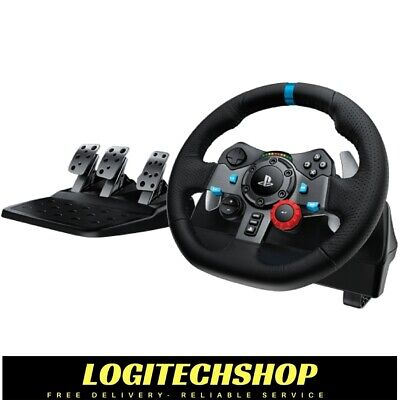 AU395 • Buy Logitech G29 Driving Force Racing Wheel For PS3 / PS4 & PC (Free Postage)