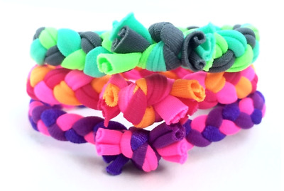 $12 • Buy Multi-color Braided Hair Ties