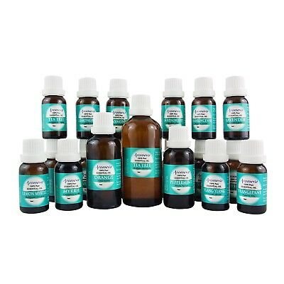 AU4.95 • Buy Pure Essential Oils For Diffuser Aromatherapy Grade 100% Natural Big Range