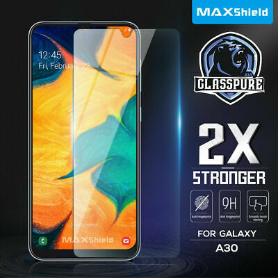 AU7.99 • Buy MAXSHIELD Tempered Glass Screen Protector For Galaxy A20 A30 A50 A70 J7 Pro 2017