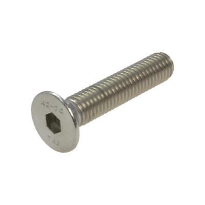 AU4.50 • Buy G304 Stainless Steel M6 (6mm) Metric Coarse Countersunk Socket Screw Bolt Allen