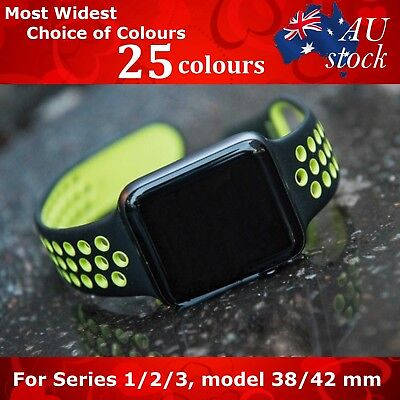 $ CDN10.30 • Buy For Apple Watch Replacement Silicone Nike Sports Band Series 5/4/3/2/1 40/44 Mm!