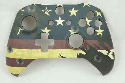 American Flag Soft Touch Front Shell For Xbox One S Controller New - Model 1708 • 15.03$