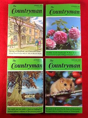 The Countryman Magazine : 4 Issues : 1987 • 5.99£