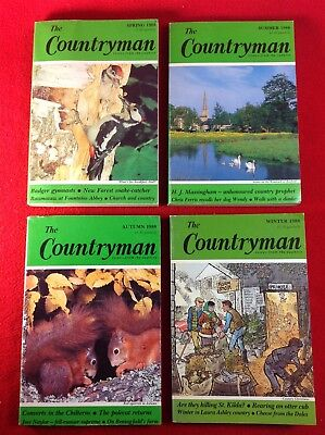 The Countryman Magazine : 4 Issues : 1988 • 5.99£