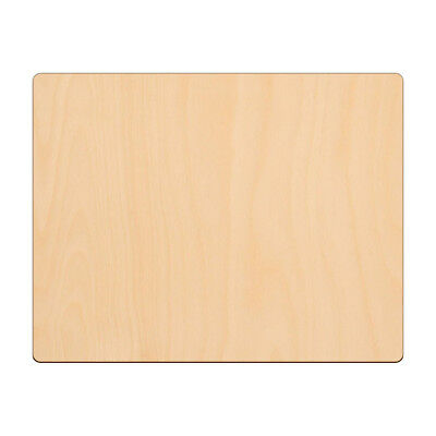 £3.65 • Buy RECTANGLE Shape Craft Blank 22.8x17.8cm BIRCH Wood Plaque Sign Pyrography