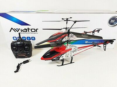 £45.99 • Buy HUGE Metal Remote Control RC DH-8 Volitation Alloy 3ch GYRO R/C Helicopter Drone