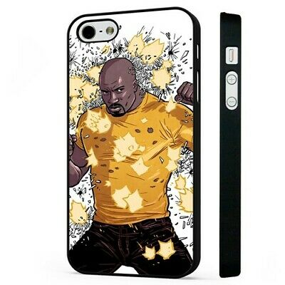£2.95 • Buy Luke Cage Hero For Hire Marvel BLACK PHONE CASE COVER Fits IPHONE