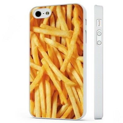 £2.95 • Buy French Fries Chips Food Burger WHITE PHONE CASE COVER Fits IPHONE