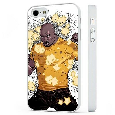 £2.95 • Buy Luke Cage Hero For Hire Marvel WHITE PHONE CASE COVER Fits IPHONE