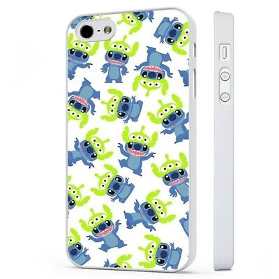 £5.95 • Buy Lilo Stitch Toy Story Alien WHITE PHONE CASE COVER Fits IPHONE