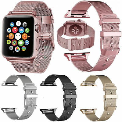 AU14.99 • Buy New Milanese Metal Bracelet Strap Band For Apple Watch Series 5 4 3 2 1 Iwatch