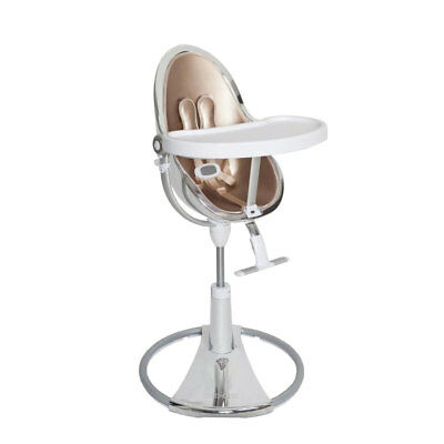 Baby Highchair Fresco Chrome Limited Edition Silver/Rose Gold Bloom • 688.99£