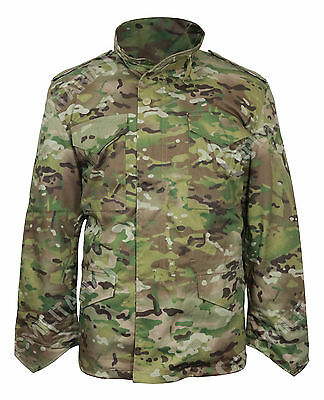 $116.55 • Buy Multitarn Camouflage M65 Field Jacket - US Army Military Parka With Winter Liner