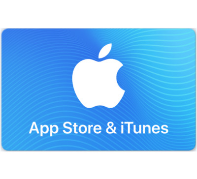 AU50 • Buy App Store & ITunes Gift Cards $30 $50 Or $100 - Email Delivery
