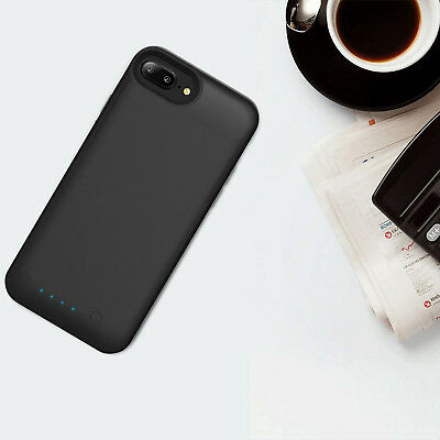 AU55.09 • Buy Battery Case Backup Cover FAST Charger 3200mAh Wireless For IPhone 8 Power Bank