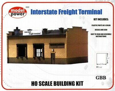 $ CDN27.45 • Buy HO Scale Train INTERSTATE FREIGHT TERMINAL Kit Model Power New Sealed 411
