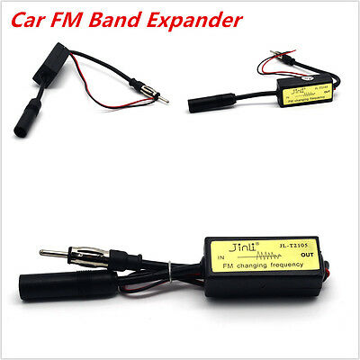 $ CDN15.28 • Buy Frequency Change Import Converter Antenna Radio FM Band Expander ForJapanese Car