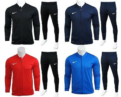 Nike Mens Academy Tracksuit Knit Full Tracksuits Bottoms Track Top Training Suit • 42.95£