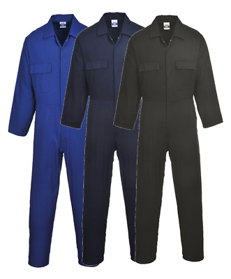 £24.95 • Buy Cotton Coverall Overall Welding Mechanic Boiler Suit Euro Work Portwest S998