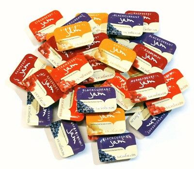 Lichfields Assorted Jam Portions - Select Your Pack Size From Handyminipacks • 9.99£