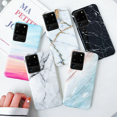 $ CDN4.31 • Buy Luxury Marble Texture Patterned Smooth Soft Silicone Case Cover For Smart Phone