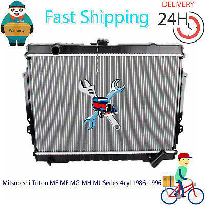 AU130 • Buy Premium Radiator For Mitsubishi Triton ME MF MG MH MJ Series 4cyl 1986-1996 MT
