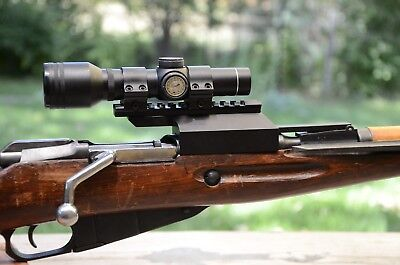 $105 • Buy Scope Mount For M91 M38 M44 Mosin Nagant MADE IN USA By Advanced Rifle Parts