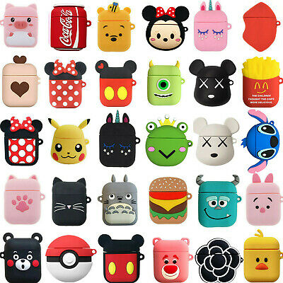 $ CDN5.25 • Buy Airpods Case For Apple Airpods 2 1 Charging Case 3D Cartoon Protective Kid Cover
