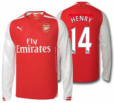 best sneakers ab95c 76ad6 henry arsenal jersey