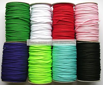 5mm CUSHION DRAWSTRING LACING PIPING CORD ( CHOICE OF LENGTH & 21 COLOURS )  • 17.99£
