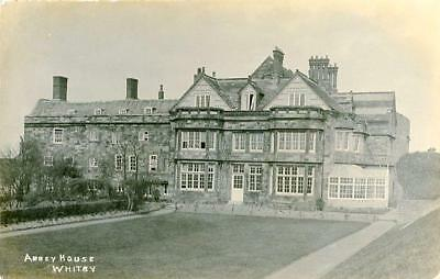 Real Photographic Postcard Of Abbey House, Whitby, North Yorkshire By Jt Ross • 12£