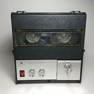 $51.91 • Buy Rare Sony Solid State Sony-O-Matic Reel To Reel Tapecorder TC-900 S  Please Read