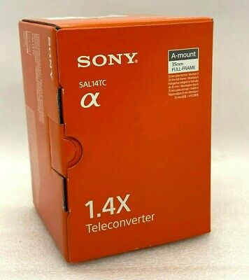 AU538.19 • Buy NEW SONY 1.4x Teleconverter For A Mount (SAL14TC)
