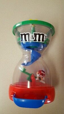 £9.41 • Buy M&M Plain Chocolate Candy Dispenser With Spinning Slide & SeeSaw Inside~ Used