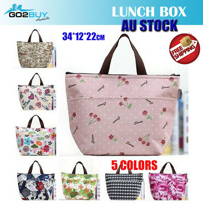 AU6.99 • Buy Portable Insulated Thermal Cooler Lunch Box Carry Tote Picnic Case Storage Bag