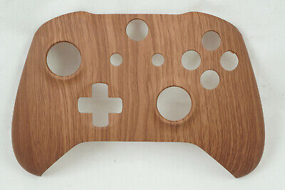 Wood Grain Soft Touch Front Shell For Xbox One S Controller - New - Model 1708 • 15.99$