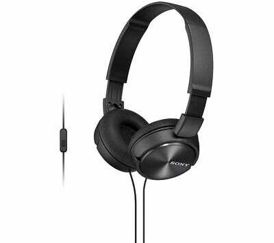SONY MDR-ZX310APB Headphones - Black - Currys • 12.99£