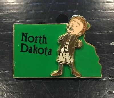 $ CDN35.19 • Buy Disney State Character Pin North Dakota, Featuring James. 3D Collection. 2002.