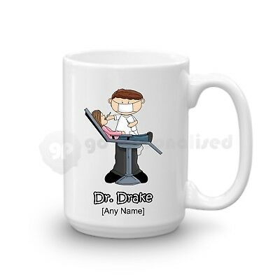 Personalised Gift Dentist Large Mug Dental Nurse Student Graduation Present Idea • 11.99£