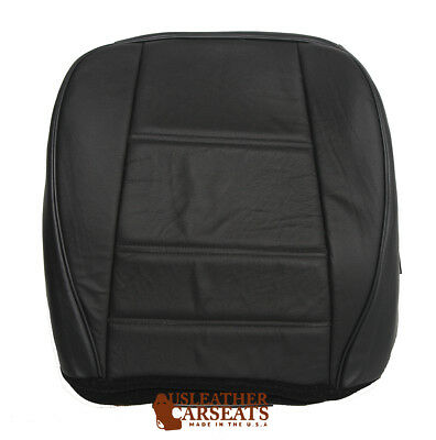 $109.99 • Buy 1999-2004 Ford Mustang Driver Side Bottom Replacement Leather Seat Cover Black