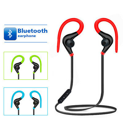 Wireless Bluetooth Headphones Sports Gym Earbuds Earphones For IPhone Samsung UK • 4.45£