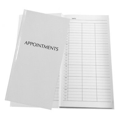 Salon Appointment Book 3 Column Hardback - Nails, Beauty, Tanning, Hairdressers • 15.50£