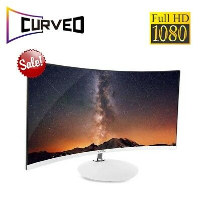 AU482.60 • Buy PC Monitor Full HD Curved Screen 23.6 Inch 1800R For Computrer Gaming
