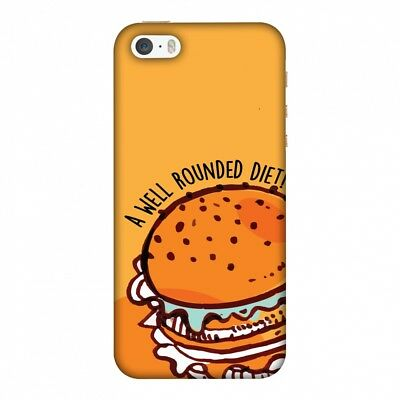 £13.17 • Buy Burger HARD Protector Case Snap On Slim Phone Cover Accessory
