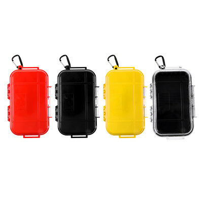 Waterproof Box Case Holder Plastic Container Phone Money Key Storage Camping • 10.18£